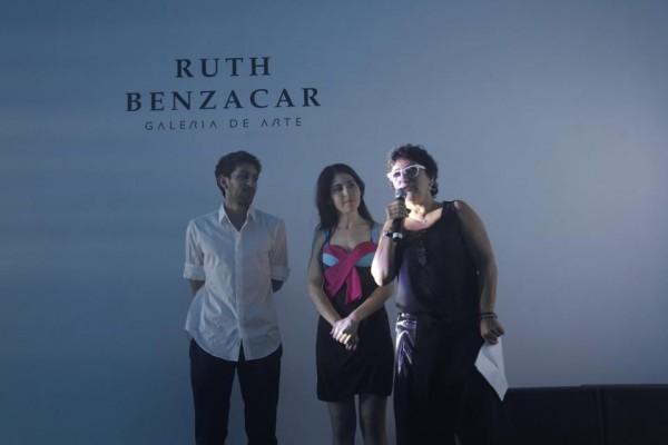 Orly Benzacar explicando su proyecto galerístico | Ruth Benzacar presenta su nuevo espacio en el polo artístico de Villa Crespo