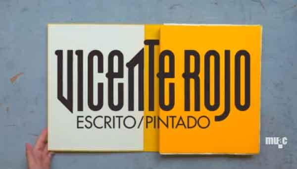 Fotograma de un video sobre Vicente Rojo | Quinteto de españoles exponiendo en México