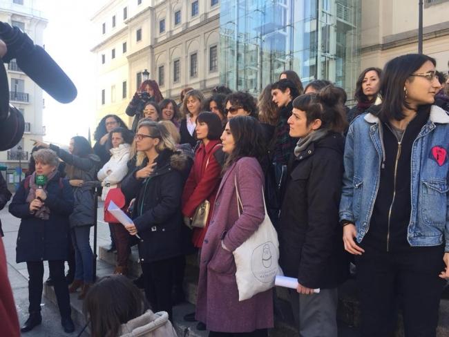 Cortesía de La Caja de Pandora | El #MeeToo español se presenta en público como La Caja de Pandora