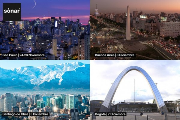 Cortesía Sónar | Sónar+D se expande en Latinoamérica: São Paulo, Buenos Aires y Santiago de Chile