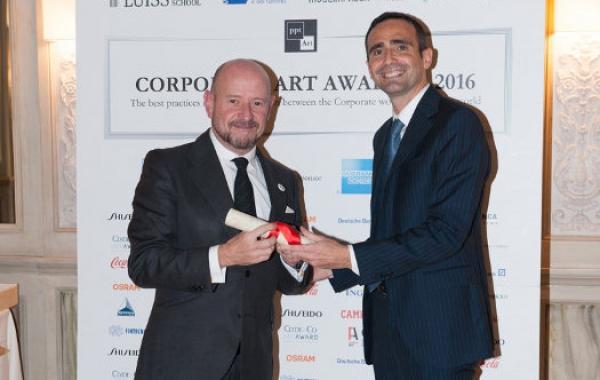 La Fundación ARCO recibe una mención especial en los Corporate Art Awards 2016