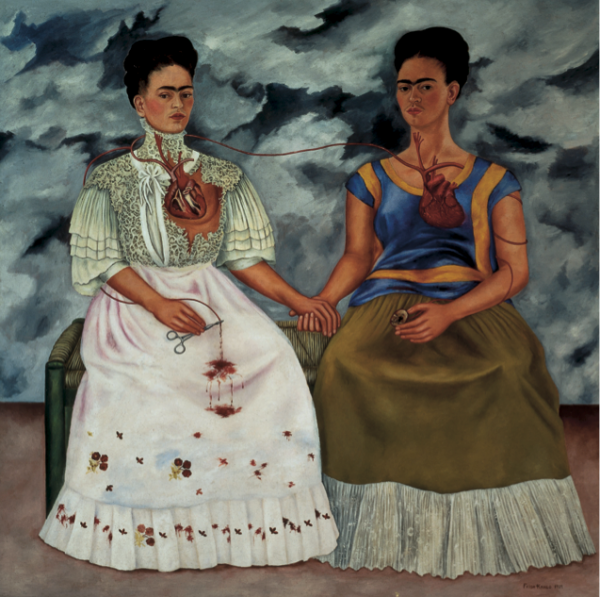 Frida Kahlo, Las dos Fridas, 1939 | Luces y sombras del 50 aniversario del MAM