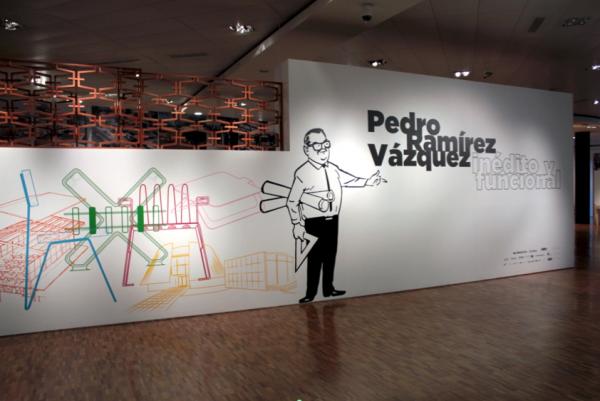 Exposición Pedro Ramírez Vázquez, inédito y funcional