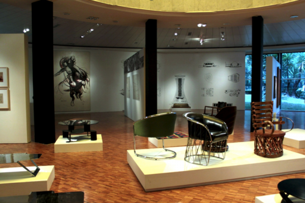 Vista general de la exposición Pedro Ramírez Vázquez, inédito y funcional. | Luces y sombras del 50 aniversario del MAM