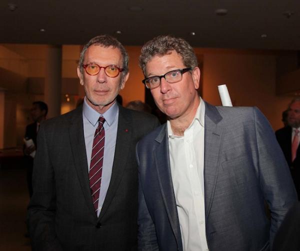 Arne Glimcher, fundador de Pace Gallery, y su hijo, Marc Glimcher. | La representación de Estates o Legados: coto de las grandes galerías globales