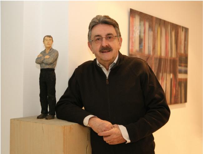 """Jaime Sordo, artífice de la Colección Los Bragales y Presidente de 9915 Asociación de Coleccionistas Privados de Arte Contemporáneo   Jaime Sordo: """"Ahora mismo estoy más en el apoyo a los y las artistas jóvenes"""""""