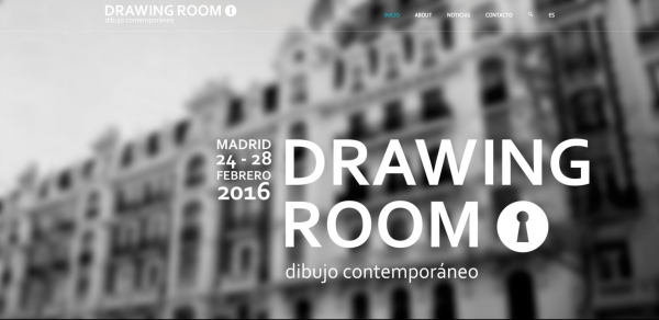 Captura de la web de Drawing Room Madrid