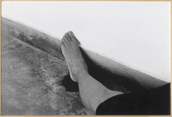 Helena Almeida. Rodapé, 1999. Colección Cal Cego, colección de arte contemporáneo. En la Diputación de Huesca | 15 exposiciones en España: inauguran Fundación BBVA, Diputación de Huesca, IVAM y Matadero