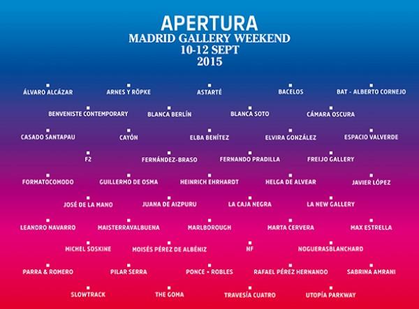 Cortesía Arte_Madrid | Pasado, presente y futuro se citan en Apertura Madrid Gallery Weekend 2015