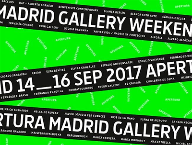 Logotipo | Apertura Madrid Gallery Weekend, la rentrée artística con 46 galerías bajo observación internacional