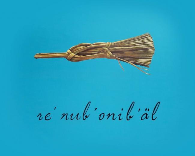 este es mi brocha, 2017, obra de Angel Poyón, uno de los artistas seleccionados por Rosina Cazali | Rosina Cazali y su apuesta por 7 artistas guatemaltecos
