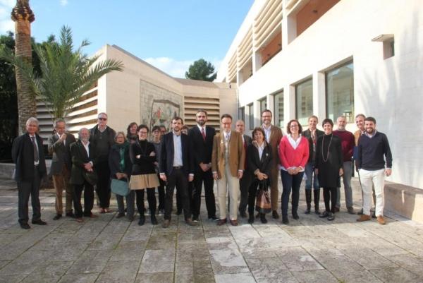 Miembros del Patronato de la Fundació Pilar i Joan Miró de Mallorca. Cortesía de la Fundació Pilar i Joan Miró de Mallorca