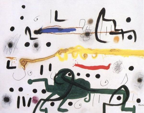 L\'Odeur de la praire. 1973. Cortesía de la Fundació Pilar i Joan Miró de Mallorca