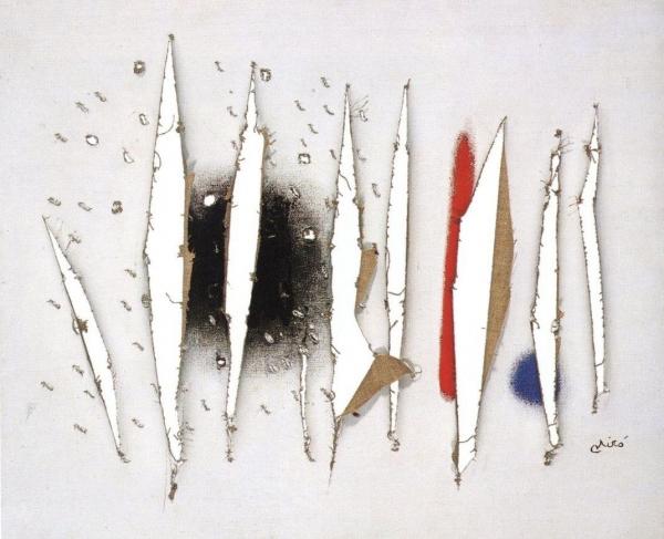 Pintura. 1973. Cortesía de la Fundació Pilar i Joan Miró de Mallorca