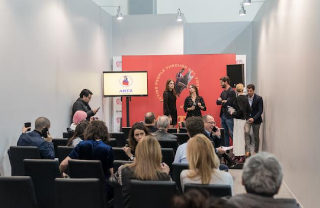 Presentación del Premio Artz Pedregal. Cortesía de Zona Maco | Todos los artistas premiados en Zona Maco 2018