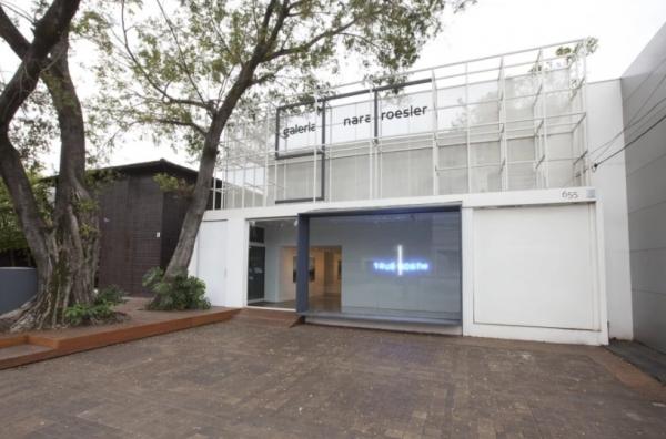 Pantallazo de la web de Galería Nara Roesler | Galería Nara Roesler se reubica en Nueva York y Río de Janeiro