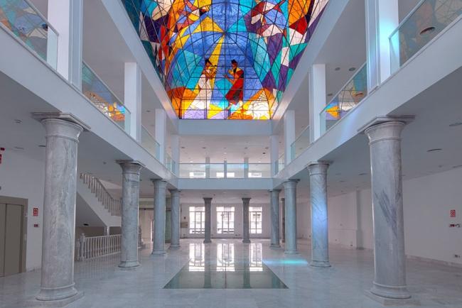 Interior del Palacio de Neptuno, que acogerá la próxima edición. Cortesía de JustMAD | JustMAD10 celebra su décimo aniversario con nueva sede y un crecimiento del 28%