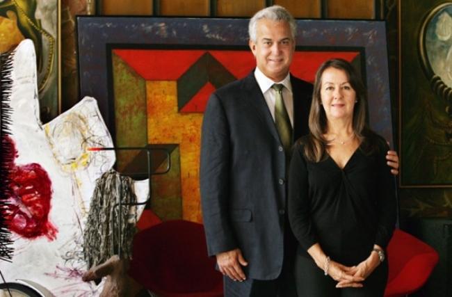 Arturo y Liza Mosquera. Pantallazo de su web   Una quincena de colecciones especializadas en arte cubano