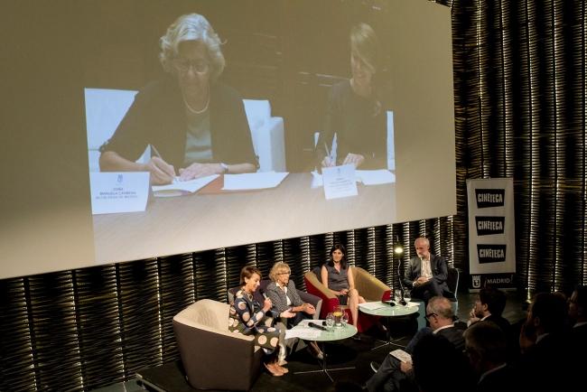Presentación de la Fundación Sandretto Re Rebaudengo Madrid ©Benedetta Mascalchi | Sandretto Re Rebaudengo se instala en Madrid con la vista puesta en Latinoamérica