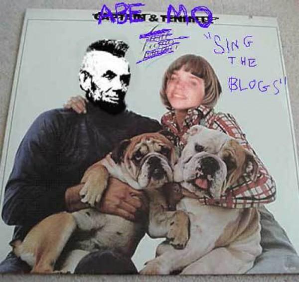 \'Abe and me. Sing the blogs\',  (2006) Marisa Olson y Abe Linkoln | A la espera del like: vivir la era post-internet