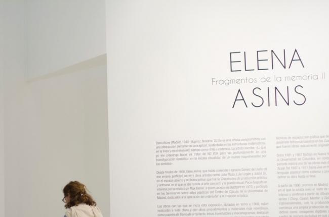 Cortesía del MUSA | El arte geométrico de la española Elena Asins llega a México