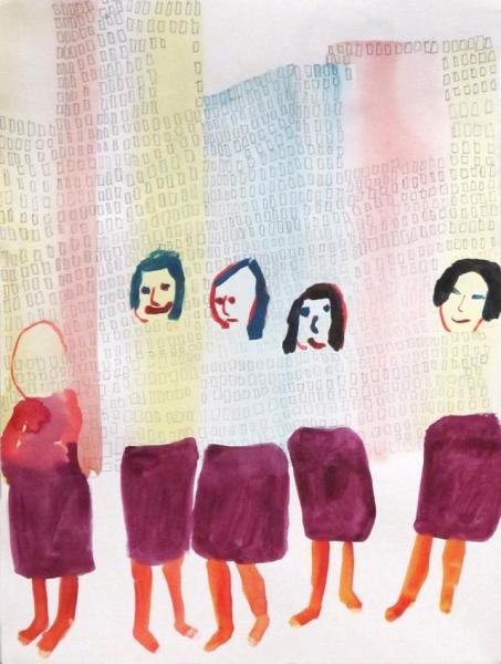 Obra de Anne-Marie Schneider. Cortesía de Peter Freeman   Las galerías madrileñas, líderes en las exposiciones de esta semana en España
