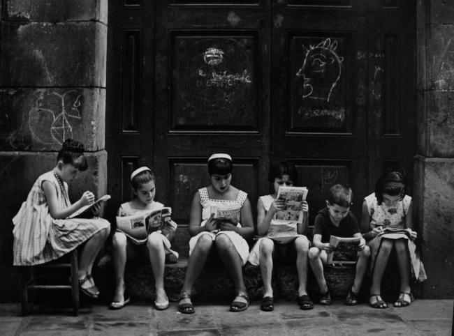 Obra de Eugeni Forcano en Blanca Berlin   Fallece Eugeni Forcano, el fotógrafo autodidacta que atrapaba la vida
