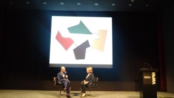 Glenn D. Lowry, director del MoMA y la coleccionista Patricia Phelps de Cisneros | Compromiso Cisneros - MoMA: gran donación y creación de un Instituto de Arte Latinoamericano