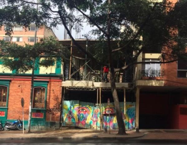 El Dorado en fase de construcción, en julio de 2015. Cortesía Proyecto Bachué | El Dorado: último espacio privado en inaugurarse en Bogotá