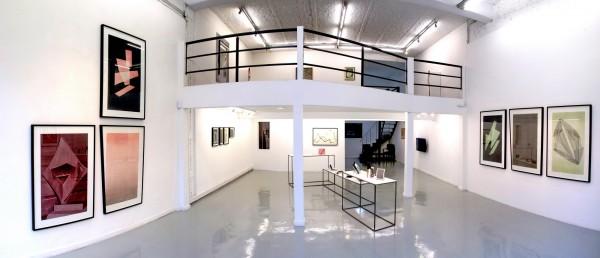 Galeria Nora Fisch - Vista de instalacio?n de la exhibicio?n La Tormenta que Imaginamos de Amadeo Azar.