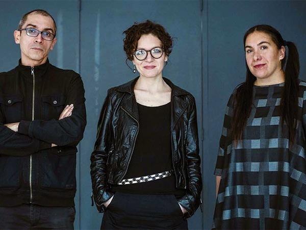 Luis Felipe Ortega, Karla Jasso y Tania Candiani