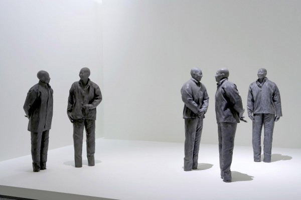 Instalación con obras de Juan Muñoz. Cortesía Museo Reina Sofía de Madrid
