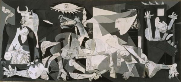Guernica (Pablo Picasso, 1937) | Picasso y Guernica: la exposición más esperada del año abre sus puertas en el Museo Reina Sofía