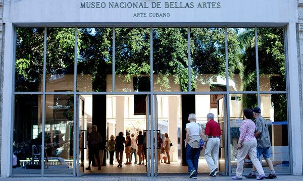 Museo Nacional de Bellas Artes de Cuba, en La Habana, | El MNBA de Cuba y el Bronx Museum de Nueva York intercambiarán sus colecciones