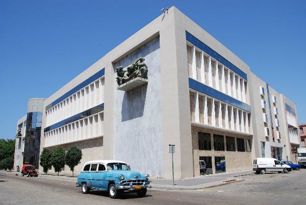 Museo Nacional de Bellas Artes de Cuba, en La Habana,