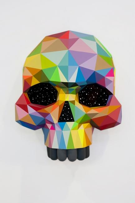 Obra de Okuda San Miguel para Art Madrid'18. Cortesía de la feria | Art Madrid'18 reunirá 41 galerías entre su Programa General y One Project