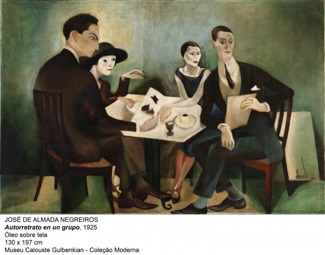Obra de José de Almada Negreiros, en la exposición sobre Pessoa | El Reina Sofía avanza su programación de 2018