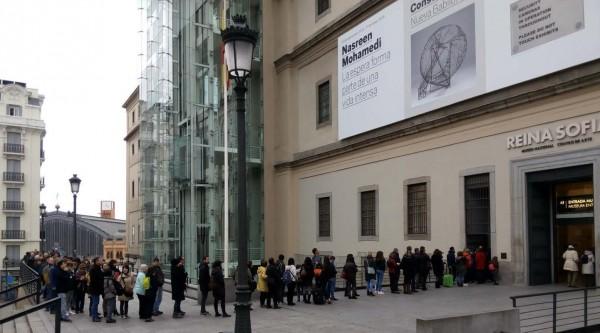 Cortesía del Museo Reina Sofía de Madrid | Las 10 instituciones culturales españolas del 2015 para ARTEINFORMADO