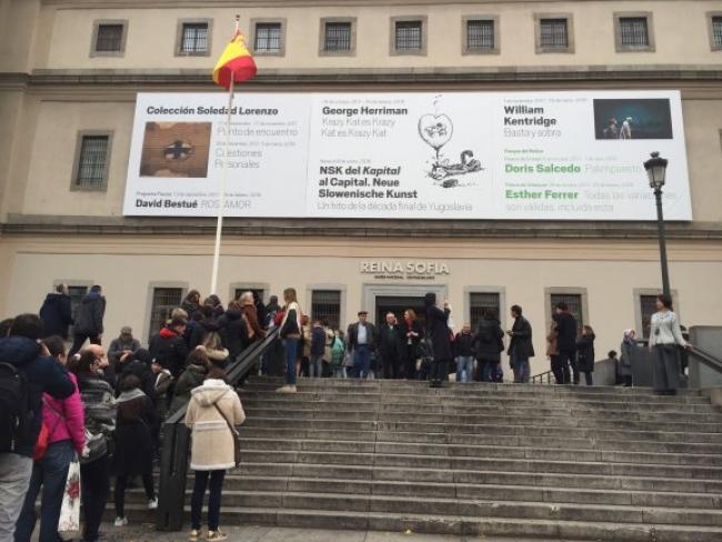 Cortesía del MNCARS | Discreto crecimiento de los museos españoles en 2017