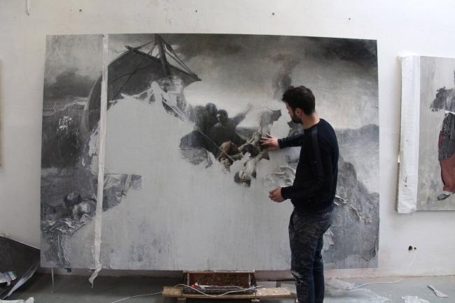 Jordi Diaz Alama - Scyphozoa (Homenaje a Géricault: La balsa de la Medusa) | 2017 | La selección de Satoru Yamada: 10 artistas elegidos desde la contemporaneidad y el riesgo