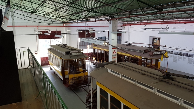 Vista del Museu da Carris. Cortesía de JustLX