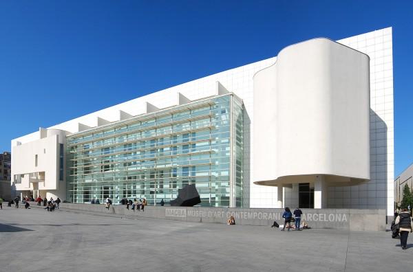 Vista exterior del Macba. Cortesía Macba | El Macba ha dedicado a artistas catalanes más de un tercio de sus individuales, en el último lustro