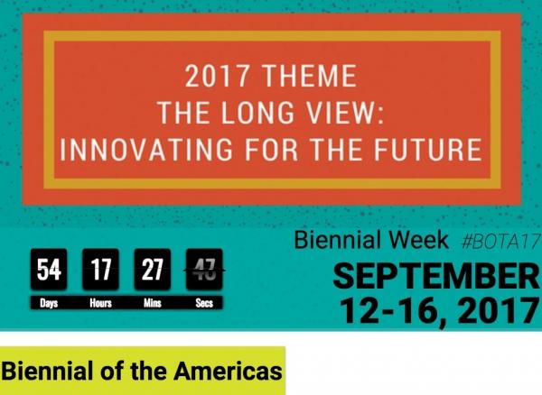 Pantallazo de la web de la Bienal de las Americas | La cuarta Bienal de las Américas regresa a Denver en septiembre