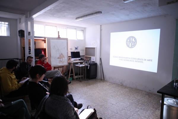 Taller sobre cómo elaborar una candidatura a un concurso | Ir a la ficha de 'Atelier Solar'. Centro y salas de exposiciones, Escuela de arte