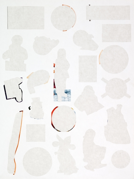 Stickers 5, Margarida Gouveia, inkjet print on paper, 110cm x 80cm 2011