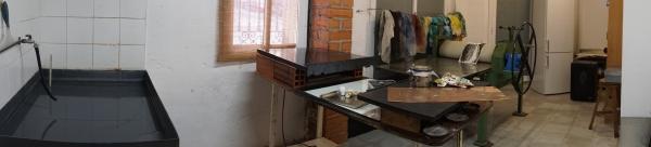 Vista del taller de estampación