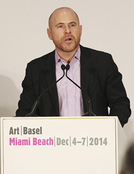Marc Spiegler, director de Art Basel