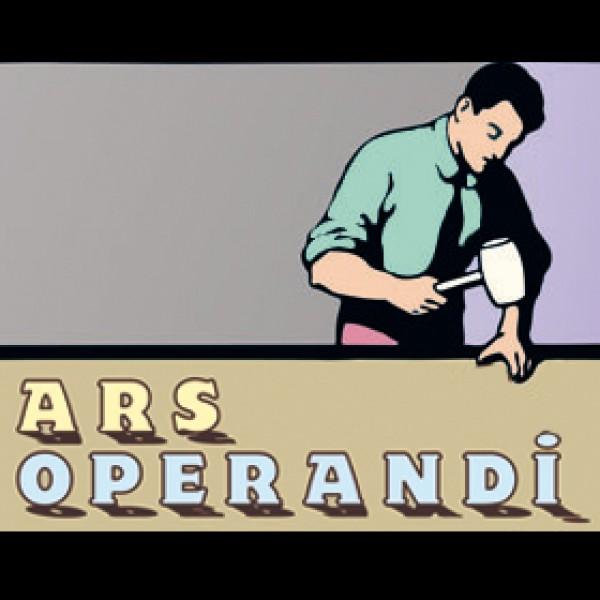 Cabecera de Ars operandi, obra de José Mª García Parody