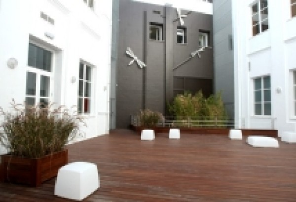 Patio del Centro Unicaja de Cultura de Cádiz