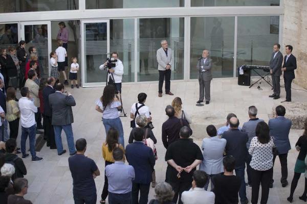 Inauguración del espacio | Ir a la ficha de 'Espai d'Art Contemporani El Castell (E CA)'. Centro de arte